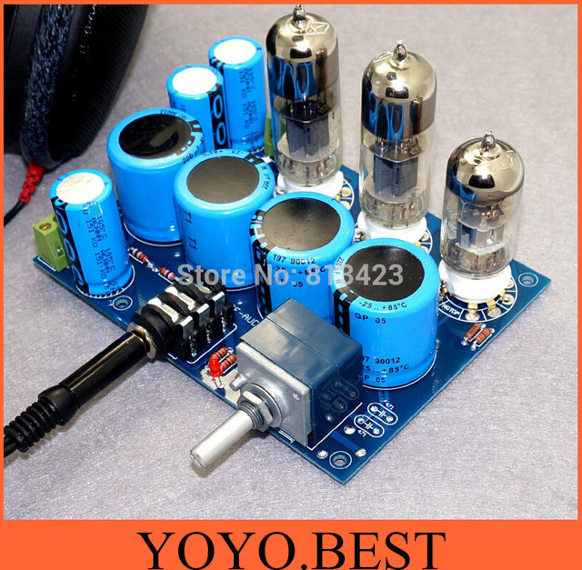 WCF pure tube headphone amp DIY KIT high end tube amplifier kit(not ...