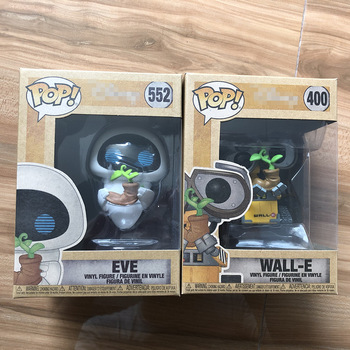 Exclusive Funko pop Official Earth Day Wall-E #400 & EVE Vinyl Action Figure Wall E Collectible Model Toy In Box
