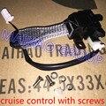 Бесплатная Доставка Круиз-Контроль Переключатель с Болтами для Toyota Camry Corolla Matrix Yaris Auris для Lexus 84632-34011,84632-34017