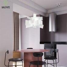 Nordic Led Pendant Lights Lustre Loft Decor Art Cafe Dining Room Lamp  Dimmable Bedroom Living Luminaire Suspendu