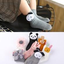 Новые осенне-зимние носки для малышей с героями мультфильмов милые детские хлопковые носки для мальчиков 0-1-3 лет
