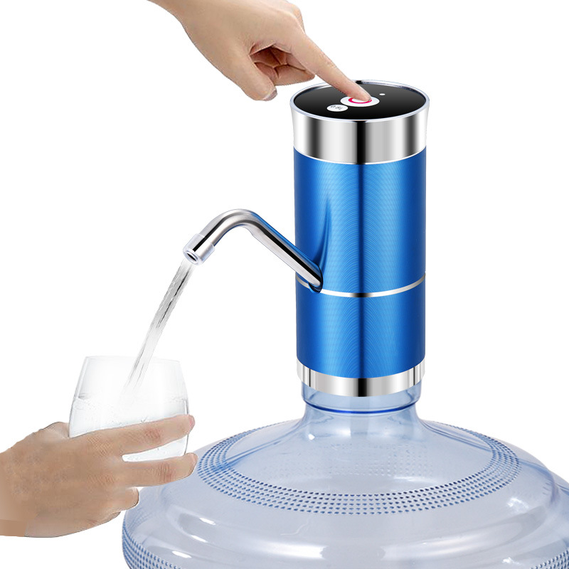 USB Charging Water Dispenser for Bottled Water Pump Pure Bucket Drinking Water Machine Desktop Automatic Absorber