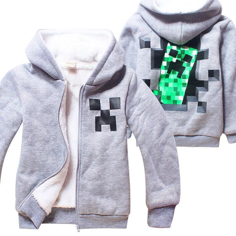 Z&Y 4-14Years Legoes Boys Hoodies Fleece Winter Jacket for Girls Warm Jacket Outerwear Teenage Boys Clothing Leather Jacket 1857
