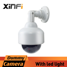 Xinfi Dummy camera Fake Surveillance Security CCTV Camera Indoor Outdoor Fake CAMERA Home Security LED Light