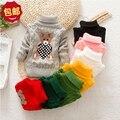 2016 младенческой новорожденного шерстяной свитер детская одежда согреться зима осень осень удобный хлопок