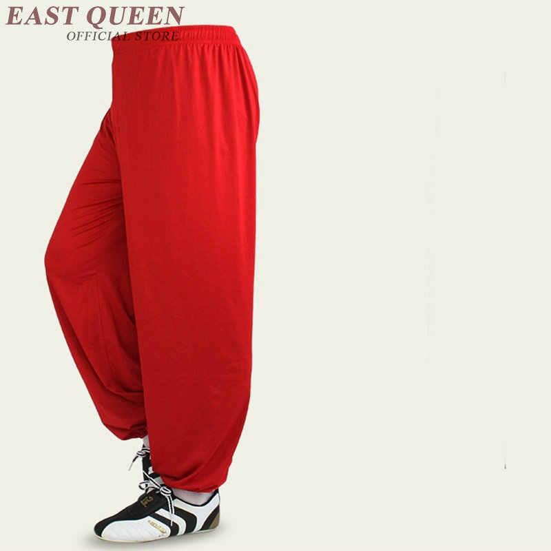 太極拳パンツ服制服女性コスチューム太極拳服女性中国スタイル白赤パンツ FF704