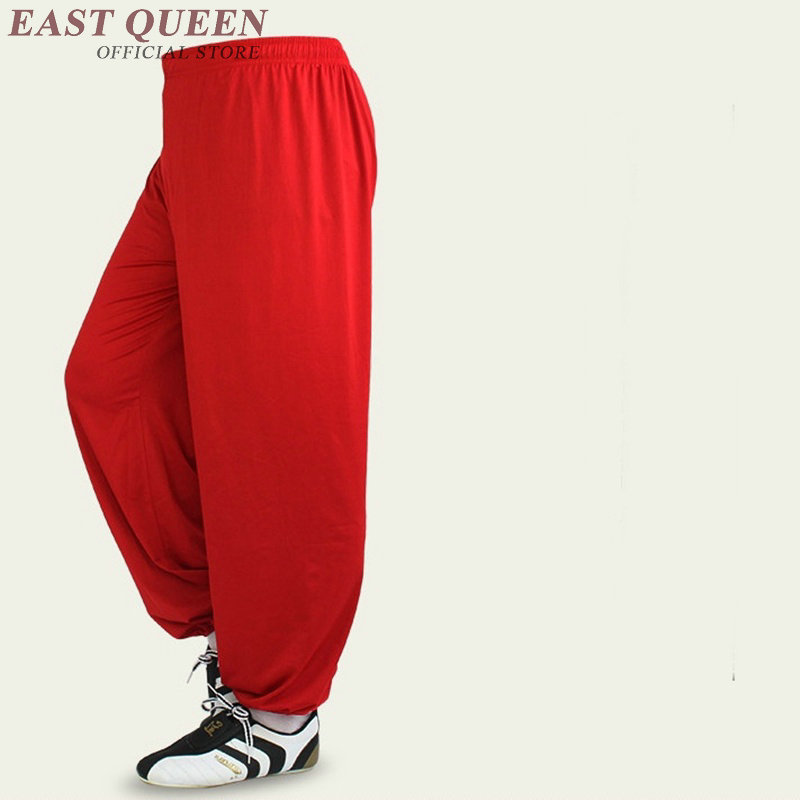 Tai Chi Pants Clothing Uniform Women Costume Tai Chi Clothes Female Chinese Style White Red Pants  FF704