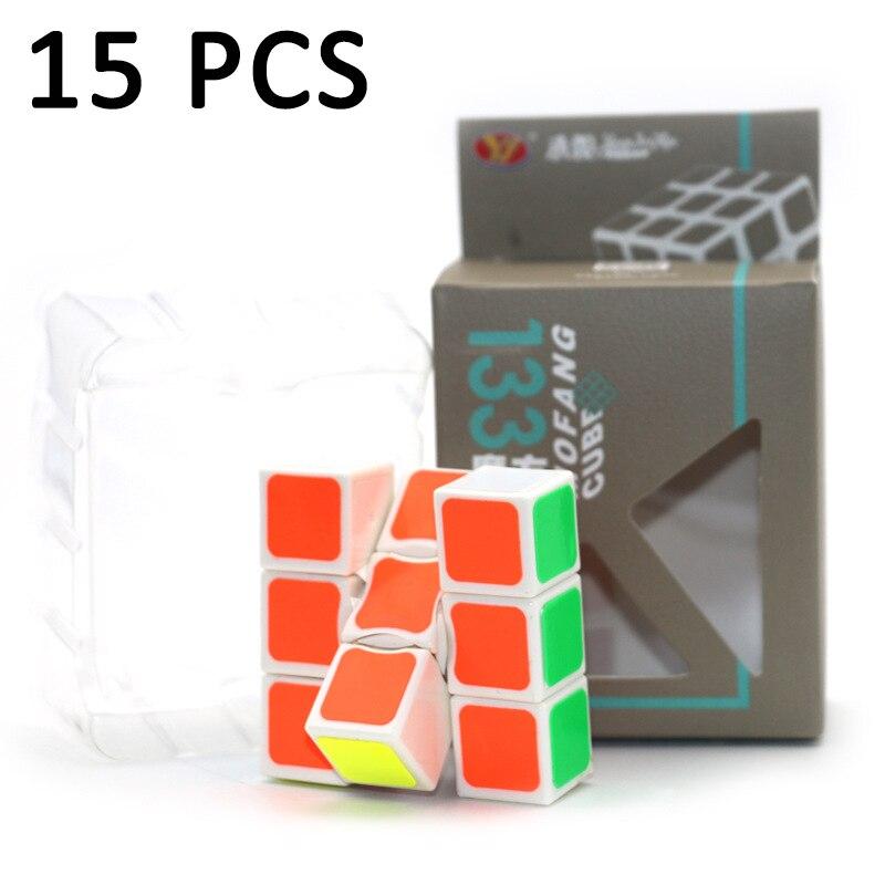 15 pièces YongJun YJ 1x3x3 professionnel magique cube vitesse lisse Puzzle cube jouets pour enfants compétition Neo Cube jouets éducatifs