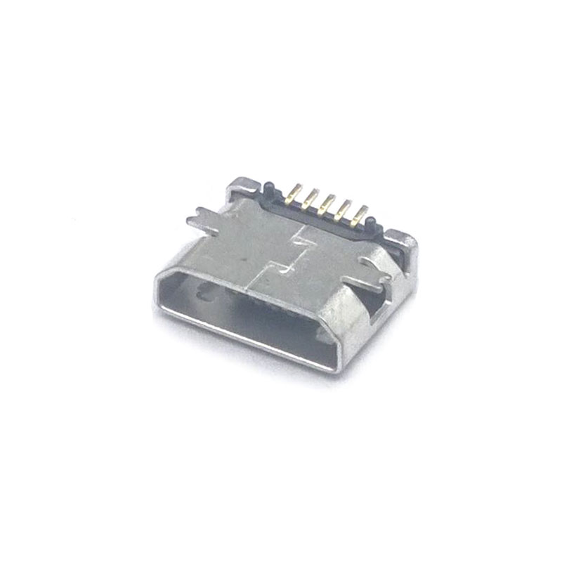 20 Pcs Total Micro USB 5 Pin Flat Jack Tail Sockect Connector Port Sockect For Samsung Lenovo Huawei ZTE HTC Ect SMT