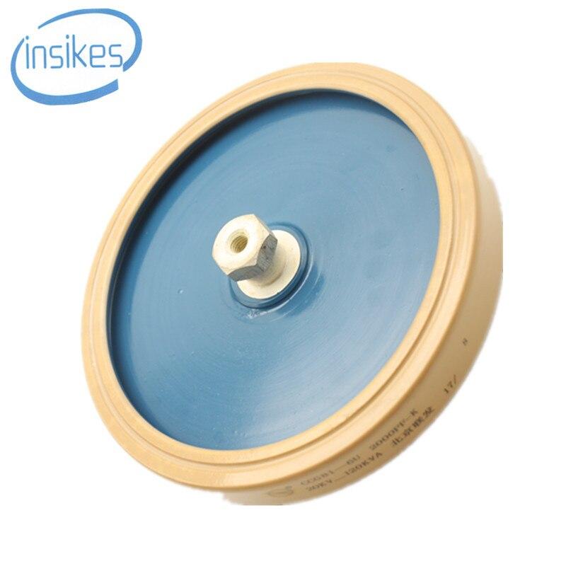 CCG81-6U CCG81-6 2000PF 2000-K 20KV 120KVA High Pressure Plate Shape Ceramic Porcelain Capacitor ccg81 1 350pf 15kv 60kva