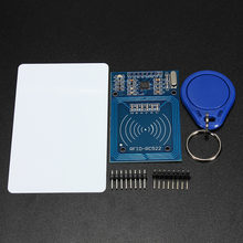 1 Set MFRC-522 RC-522 RC522 RFID Wireless IC Module S50 Fudan SPI Writer Reader Card Key Chain Sensor Kits 13.56Mhz For Arduino(China)