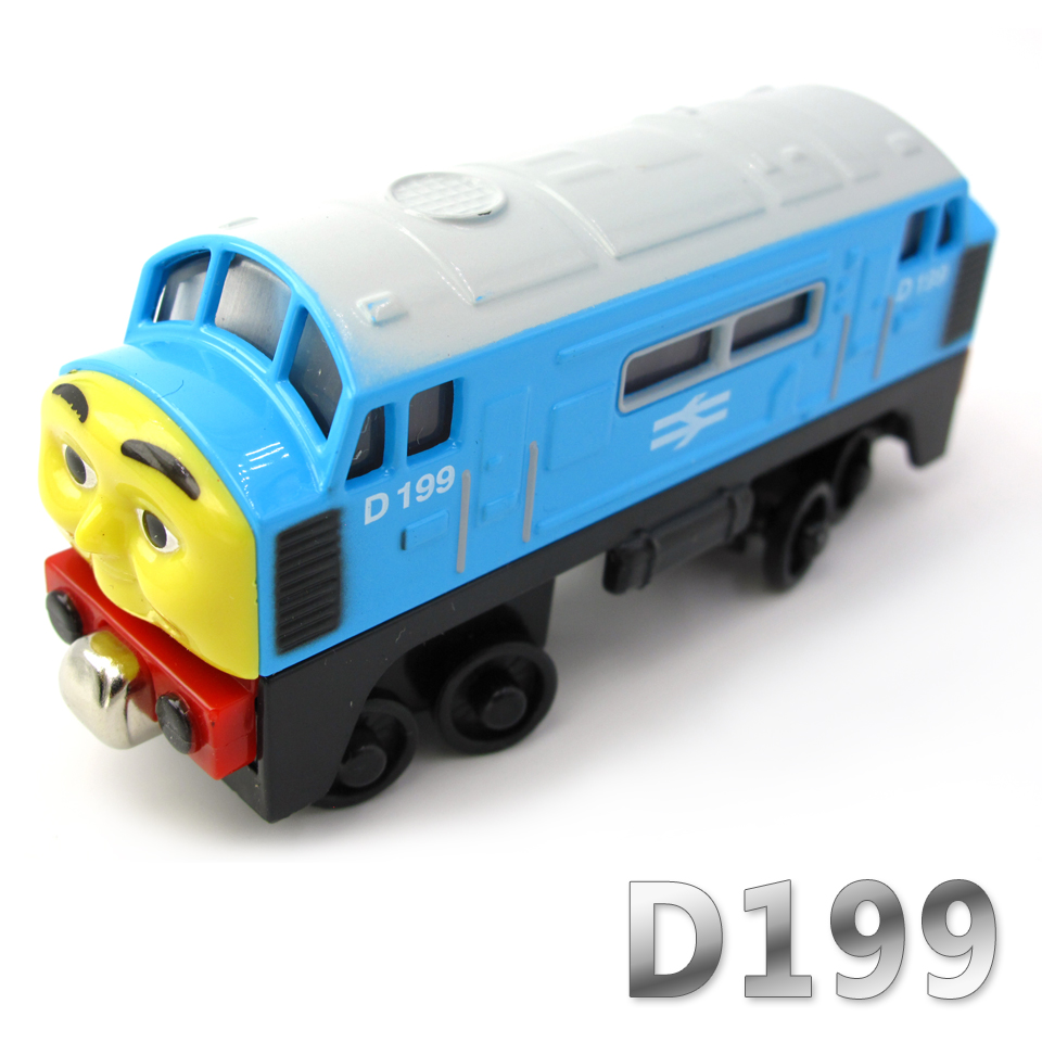 Diecasts Vehicles Thomas T032D D199 Thomas And Friends Magnetic Tomas Truck Car Locomotive Engine Railway Train Toys for Boys