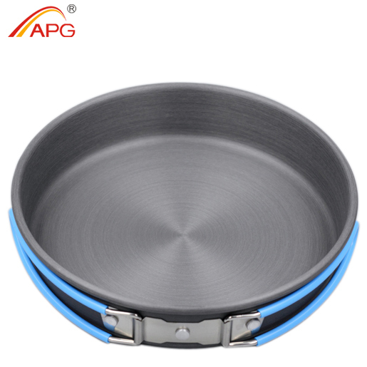 APG ultralight cutlery set picnic cooker and portable tableware camping fry pan