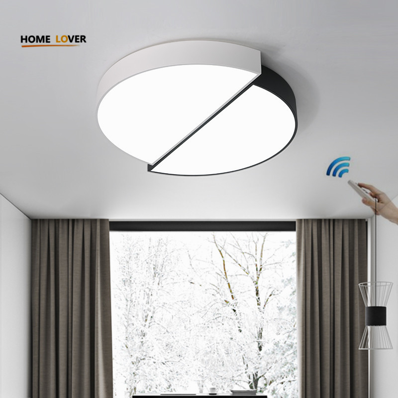 Modern LED Ceiling Light For Living Room Bedroom Kitchen fashion luminaire Home Fixtures Plafon led lamp With Remote Control modern minimalist ultra thin modern square led ceiling light living dining room remote control light fixture and plafon lamp