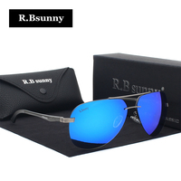 R Bsunny Aluminum Magnesium Polarized Men Sunglasses