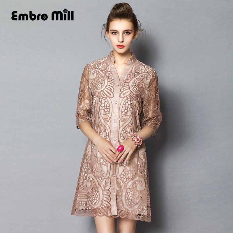 High end royal embroidery organza blouse shirt shirt for High end fashion websites