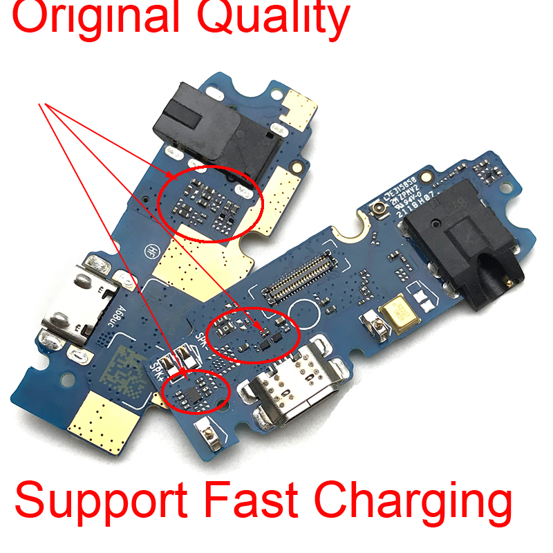 For ASUS ZenFone Max Pro M1 ZB601KL ZB602KL USB Charging Dock Port Charger Connector Board Flex Ribbon With Micro Microphone