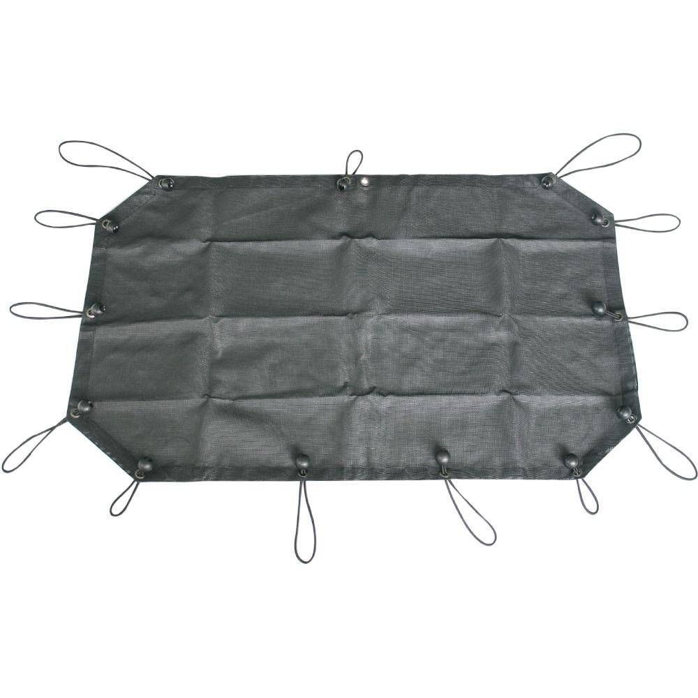 Maille Parasol Capot Supérieur pour 2007-2018 2-Porte Jeep Wrangler JK & Illimité JK, spider Web Ombre Bkini UV Protection