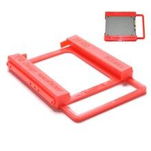 """2,"""" до 3,5"""" пластиковый SSD отсек ноутбук внешний жесткий диск SSD HDD Монтажный рельсовый адаптер кронштейн держатель док-станция 1 шт"""