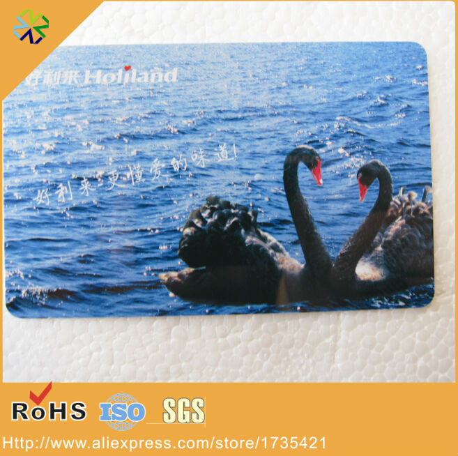 Buy round corner high quality CMYK printing thin 0.3mm thickness pvc plastic card for only 137.79 USD