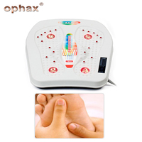 OPHAX Infrared Reflexology Foot Massager Electric Health Machine Automatic Roller Feet Care Massager Circulation Therapy Teater
