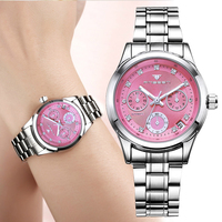Foreign trade hot sale fashion women's mechanical watches with calendar waterproof full automatic ladies watch for women gift