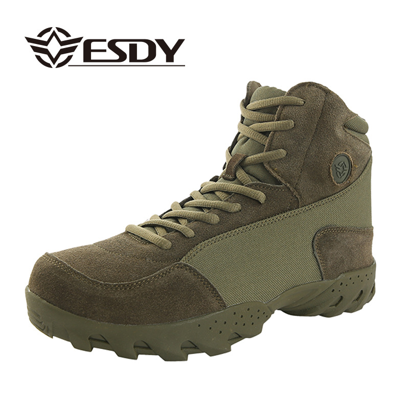 Outdoor Sport Shoes Climbing Hiking Shoes 2017 Men Combat Boots Military Tactical Hiking Boots Sneakers Camouflage Desert Army