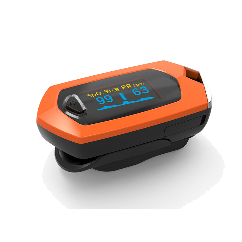 Fingertip Pulse Oximeter Carrying Case and Lithium Battery for SpO2 and Pulse Rate Measurement 1