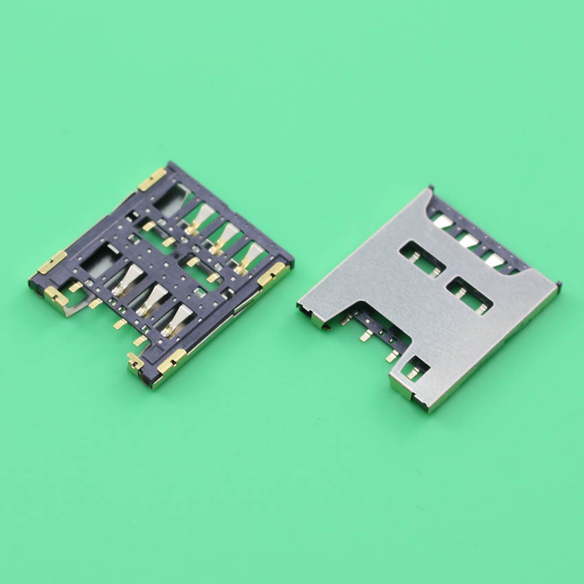 YuXi For HTC Desire 510 Sim Card Reader Module Slot Tray Holder Socket Replacement Part