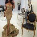 Vestido de festa Ouro Lantejoula Sereia Longos Vestidos De Noite De Luxo 2015 Cintas de Espaguete Querida Vestidos de Noite robe de soirée