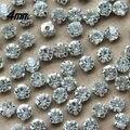 O envio gratuito de 720 pçs/saco SS16 4mm Banhado A Prata Soltas Cristal Costurar em Strass beads para decoração DIY