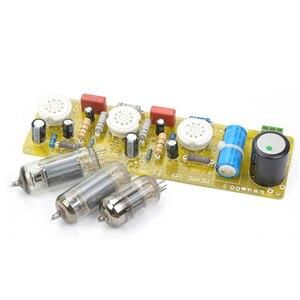 Image 2 - Aiyima 6n1 + 6p1 밸브 스테레오 앰프 보드 진공관 앰프 필라멘트 ac 전원 공급 장치 + 3 pcs 튜브