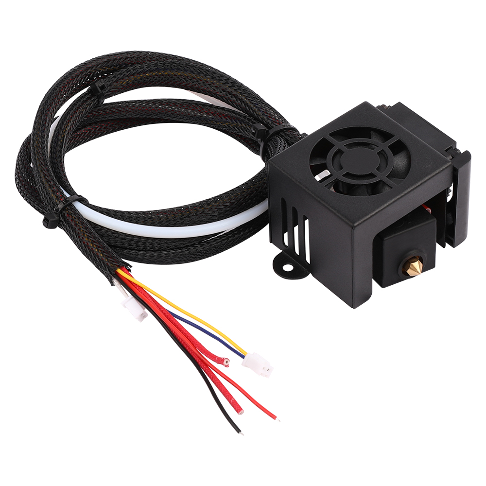 3D printer part Full Assembled Extruder Kits Fan Cover Air Connections Nozzle Kits for ender 3