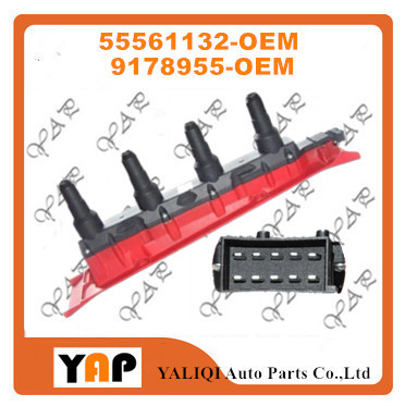 New High Quality Ignition Coil FOR FITSaab 9-3 900 9000 2.0L 2.3L L4 55561132 9178955 1991-2002