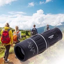 16 x 52 bifocal monocular binoculars zoom optical lens hunting travel outdoor camping HD tourist telescope