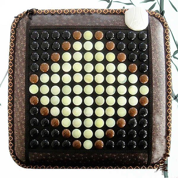 Health Care Heating Jade Cushion Natural Tourmaline Mat Physical Therapy Mat Heated Jade Mattress 45*45CM Free Shipping 2 sets ball the plum flower jade handball furnishing articles hand bead natural jade health care gifts