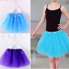 Лидер продаж, 1 предмет, Элегантная короткая мини-балетная юбка с пузырьками для девочек 2-7 лет, пышное праздничное платье