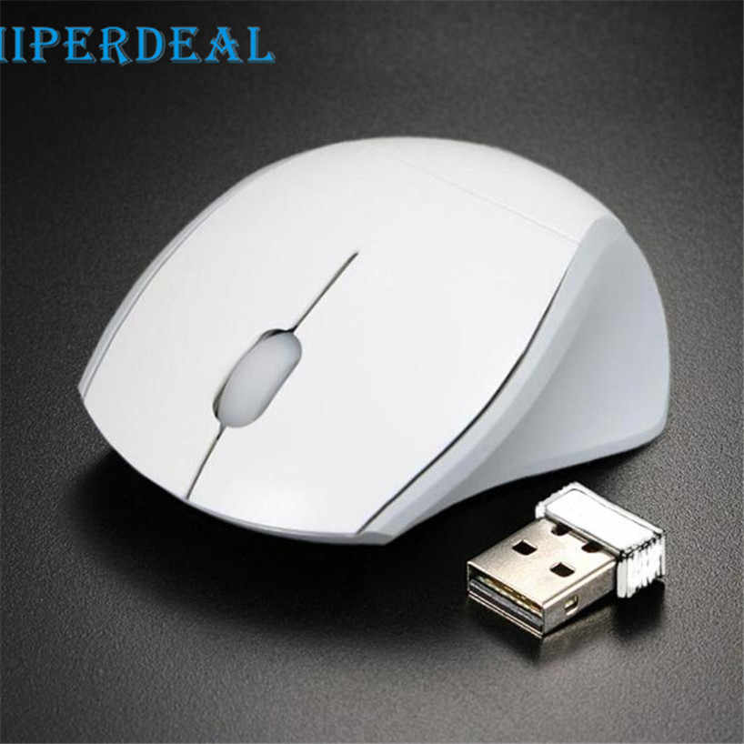 Hiperdeal 2017 Gratis Shiping 2.4GHz Optik Mouse USB Receiver PC Komputer Nirkabel untuk Laptop Sep 19