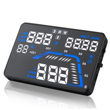 Universal GPS Car HUD Head Up Display Q7 5.5″ Alarm Satellite Altitude Projector For Peugeot/Ford/Mazda/Kia/Volvo Car Styling