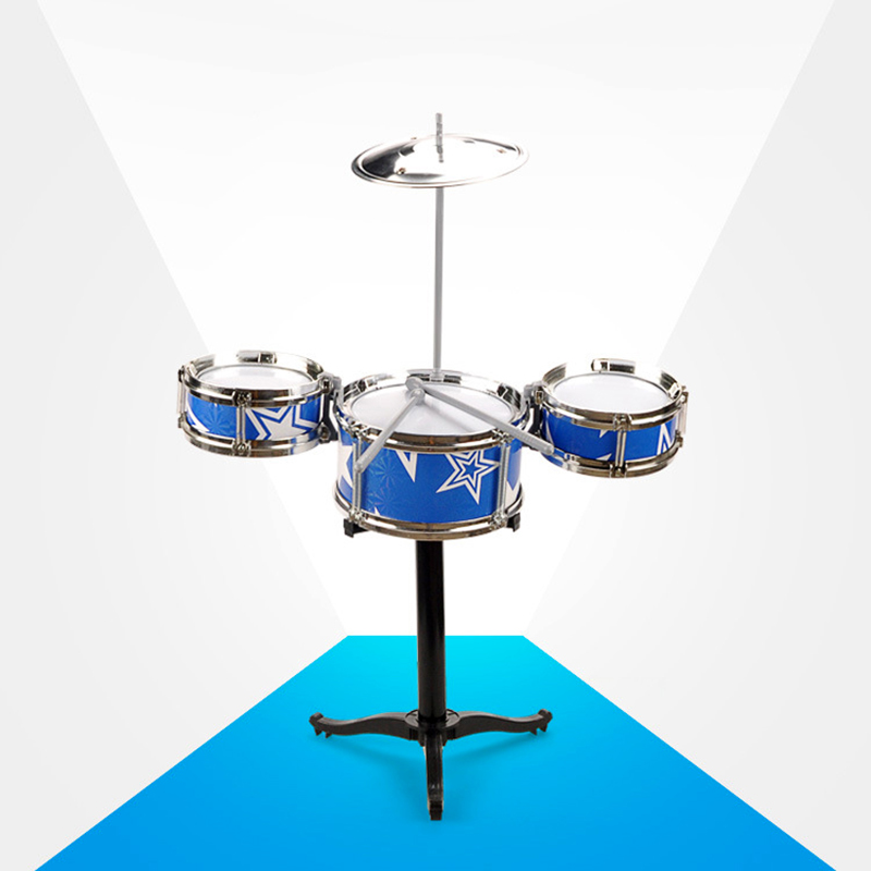 2016 Hot Sale 4pieces Series Drum Set Toys Big Size Jazz Musical Instrument For