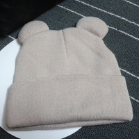 6 Colors New Fashion Winter Women's Cat's Ears Hat Knitted Fur Warm Woman Caps Beanies Hats Skullies Casual Bonnet Gorros