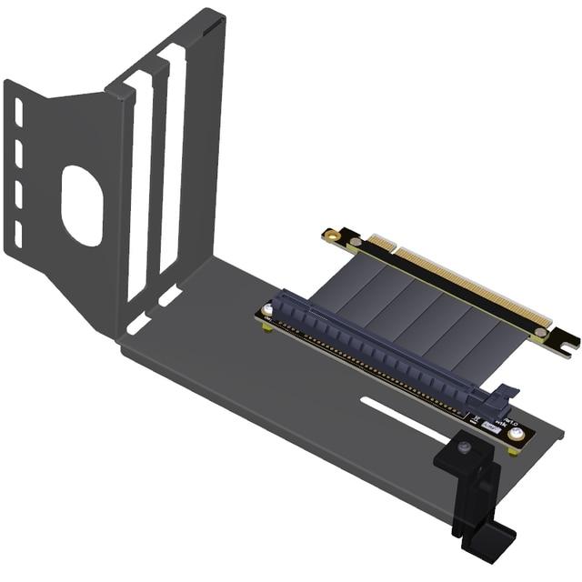 PCIe 3.0 Vga กราฟิกการ์ดวงเล็บแนวตั้งแนวตั้ง transfer กรอบสนับสนุน PCI E 3.0x16 ขยายสาย GTX1080Ti