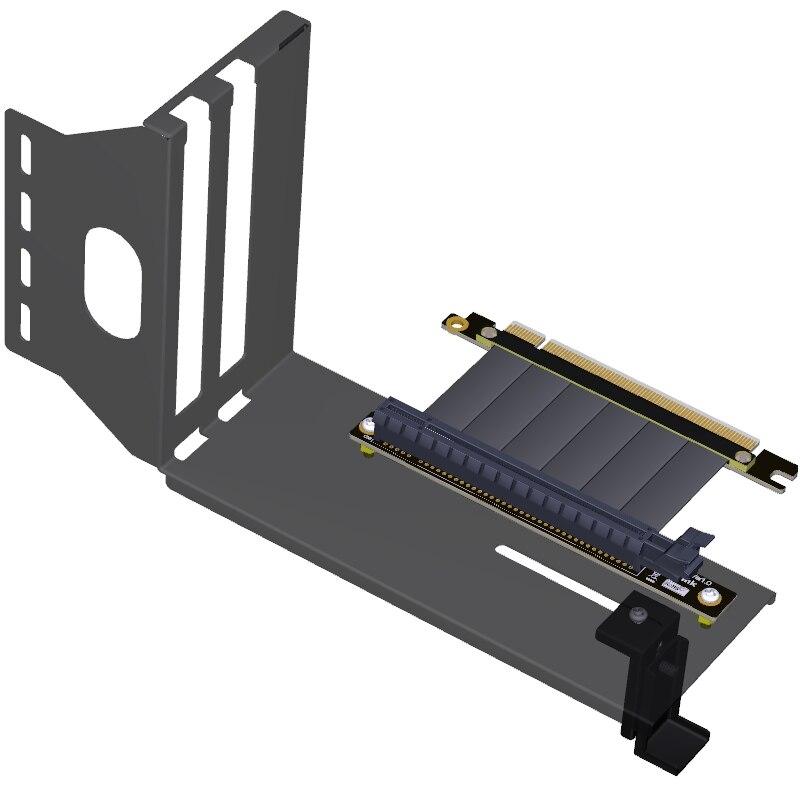 Support de carte vidéo graphique PCIe 3.0 VGA support de cadre de transfert Vertical vertical avec câble étendu PCI-E 3.0x16 GTX1080Ti