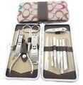 100 sets Nail Care Clipper Manicure Set Pedicure Tools Kit Nail Tools Nail Clipper scissors Travel KIt Nail Cutter 14pcs/set