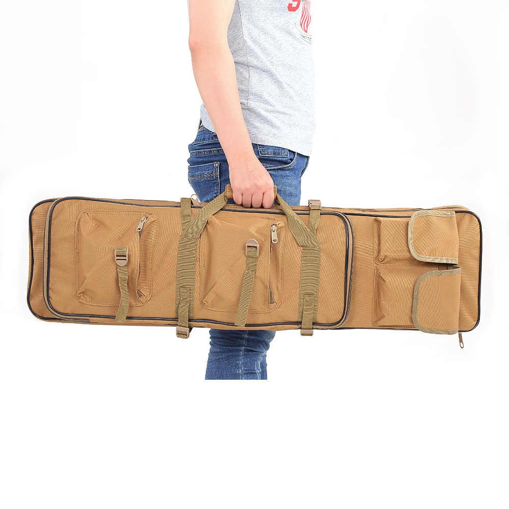 Это пистолет сумка с плеча Sling ремешок тактический военный Охота сумка напольные мягкие баррель переноски пистолет сумка