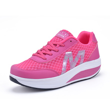 Women Fitness Shoes 2018 Women Light Breathable Summer Shoes Female Network Shoe Sports Toning Shoes