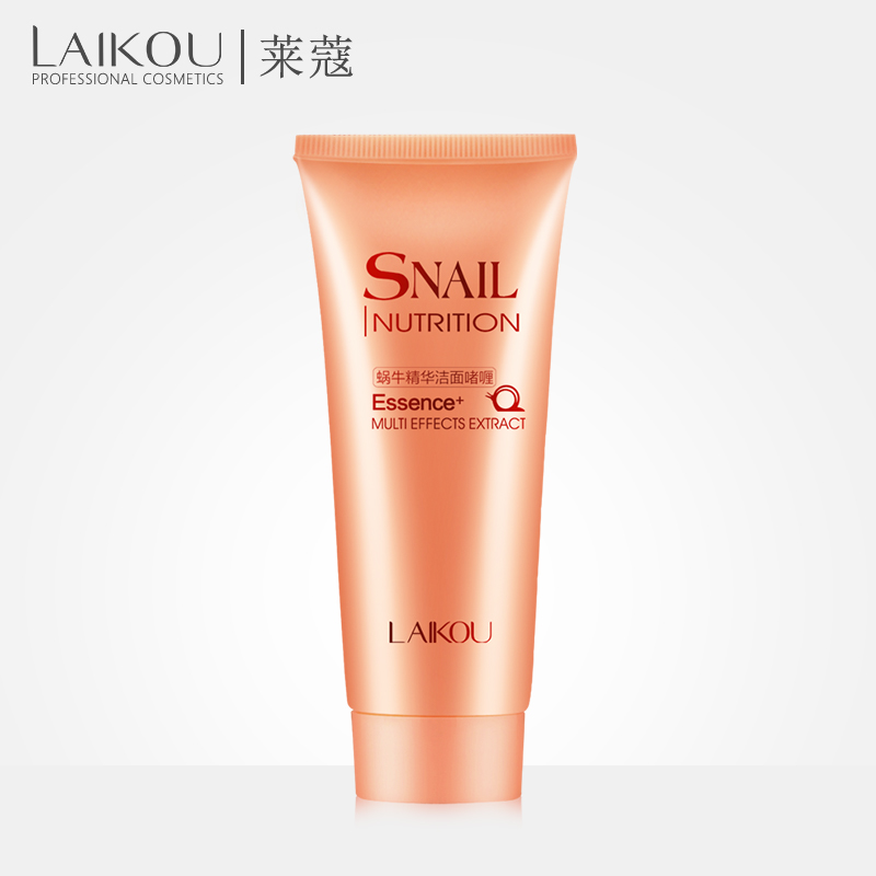 LAIKOU Snail Inutrition Essence Multi Effects Extract Cleansing Foaming Gel Treatment Acne
