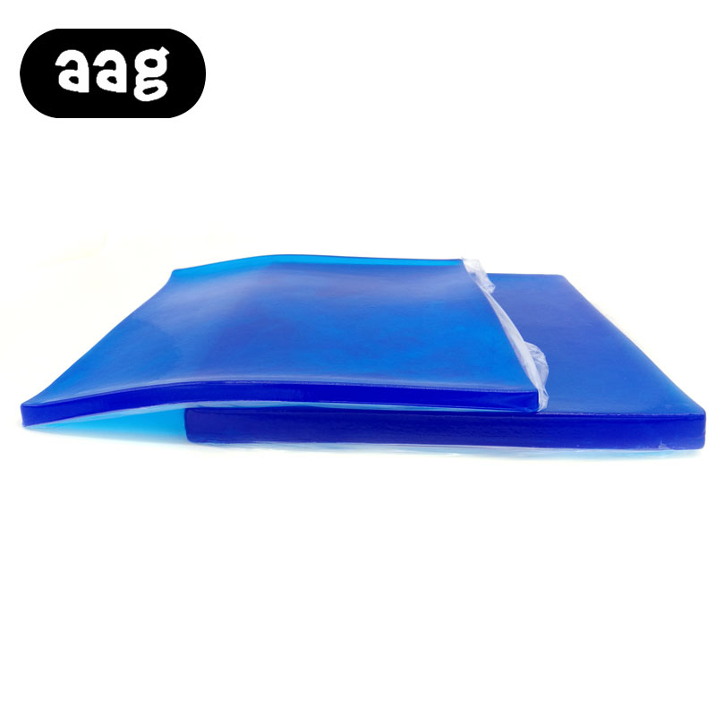 AAG Gel Cushion Seat Cushion Cool Motorcycle Mat Blue Color 2 Sizes For Summer Comfortable Smooth Portable Support Hips PadAAG Gel Cushion Seat Cushion Cool Motorcycle Mat Blue Color 2 Sizes For Summer Comfortable Smooth Portable Support Hips Pad