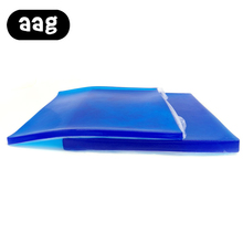 AAG Gel Cushion Seat Cool Motorcycle Mat Blue Color 2 Sizes For Summer Comfortable Smooth Portable Support Hips Pad