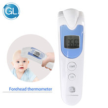 GL Muti-fuction Baby Volwassene Digitale Thermometer Infrarood Voorhoofd Lichaam Thermometer Pistool Contactloze Temperatuur Thermometer 2017